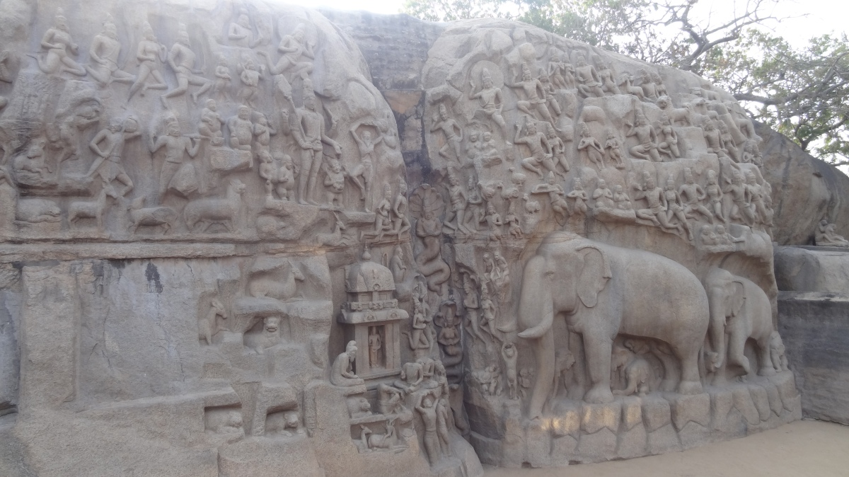 Mahabalipuram - A Place for Sculpture  Lovers!!!!!