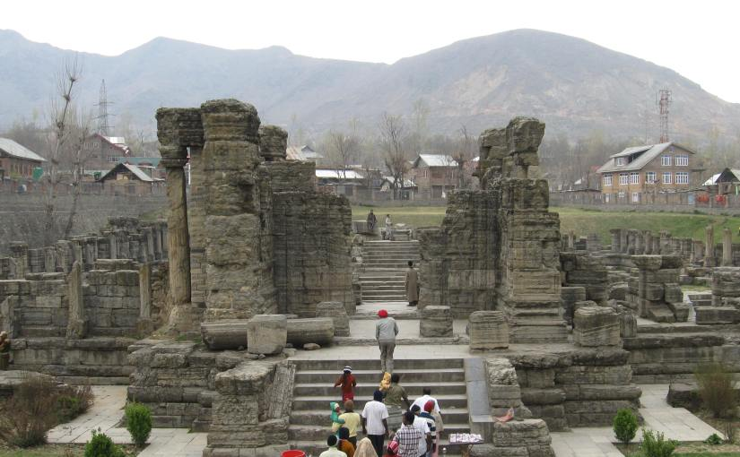 Kashmir – Avantiswami Temple –P4