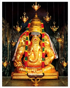 Image result for Lord Ganesha Pillaiyarpatti