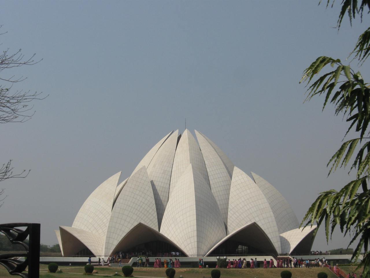 Delhi – Lotus Temple –P6
