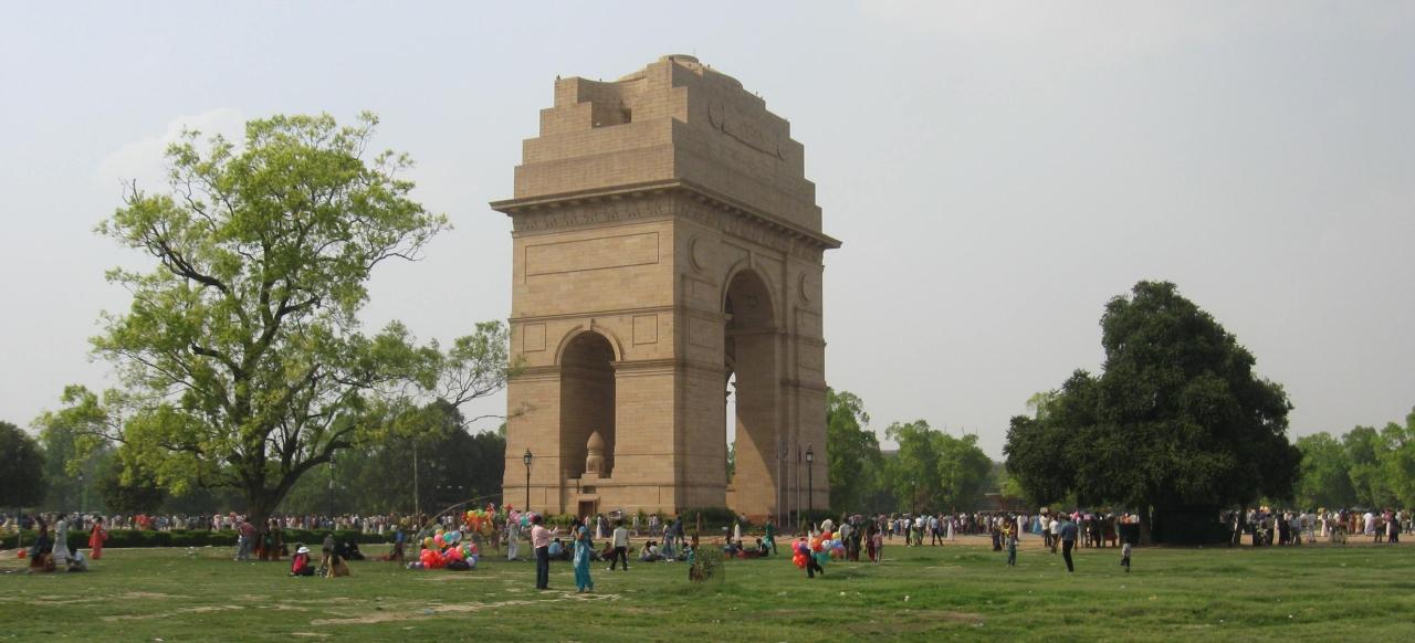 Delhi – India Gate –P9