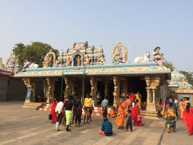 Image result for doing Pradakshina Around The Garbhagriha/Moolasthanam