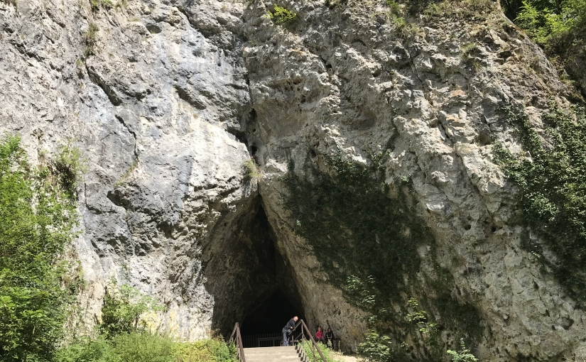 BRNO – Moravian Karst – Catherin's Cave –P1